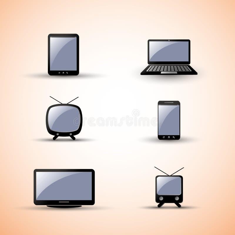Elementi di disegno di Web - unità illustrazione vettoriale