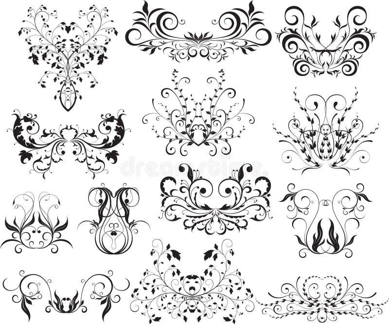 Elementi di disegno grafico royalty illustrazione gratis