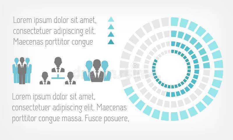Elementi di Infographic. royalty illustrazione gratis
