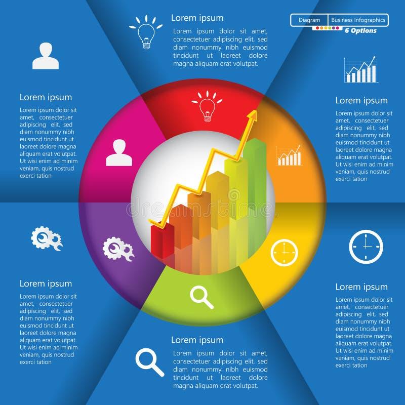 Elementi di Infographic illustrazione vettoriale