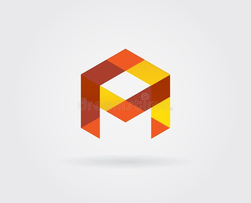 Elementi di Logo Letter Icon Design Template nel vettore royalty illustrazione gratis