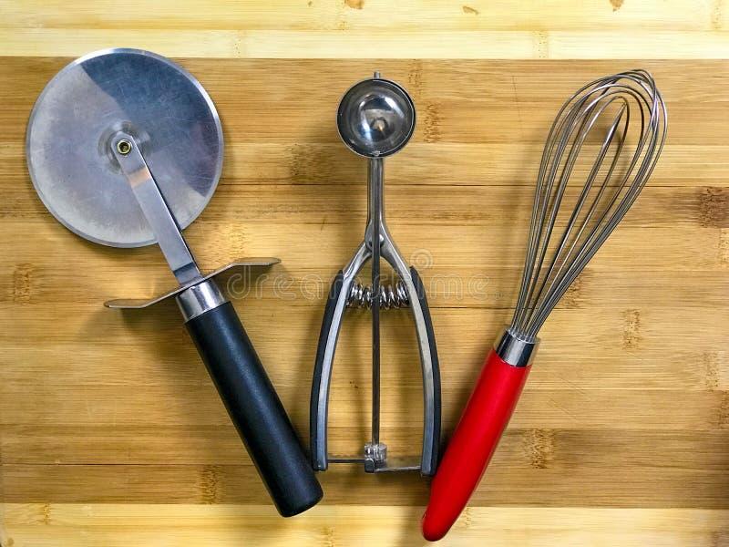 Elementi di ogni giorno della cucina fotografie stock