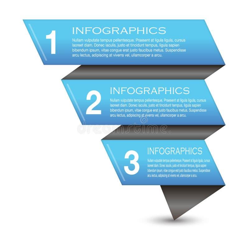 Elementi Di Progettazione Dell Insegna Di Infographic Fotografia Stock