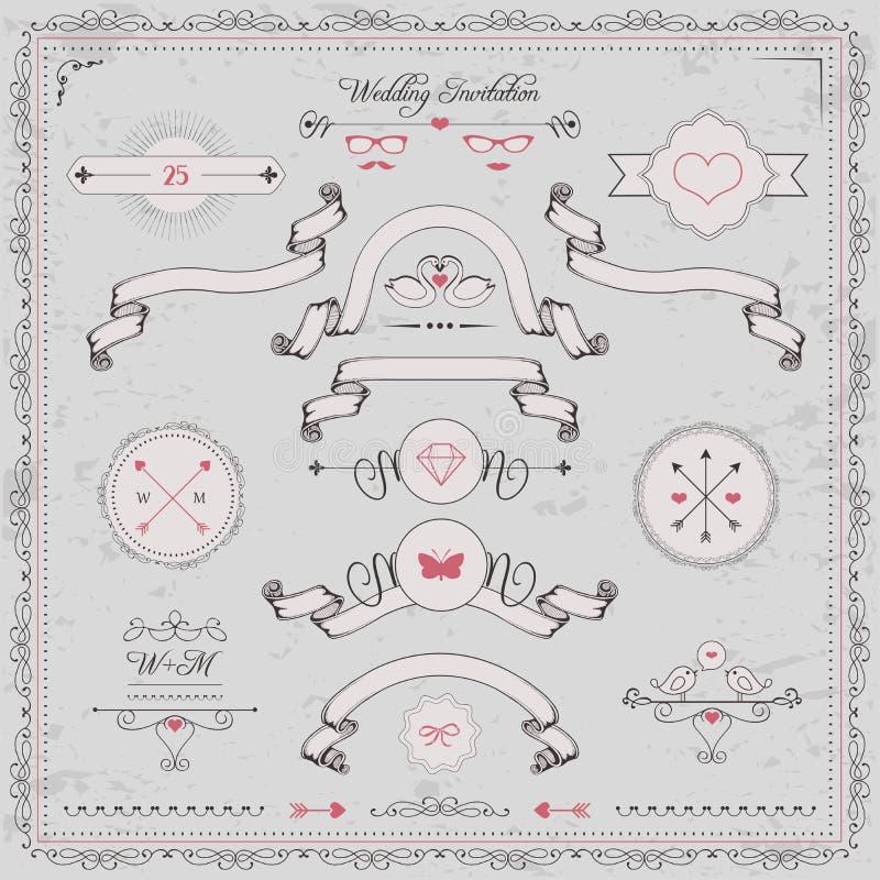Elementi di progettazione, invito di nozze,
