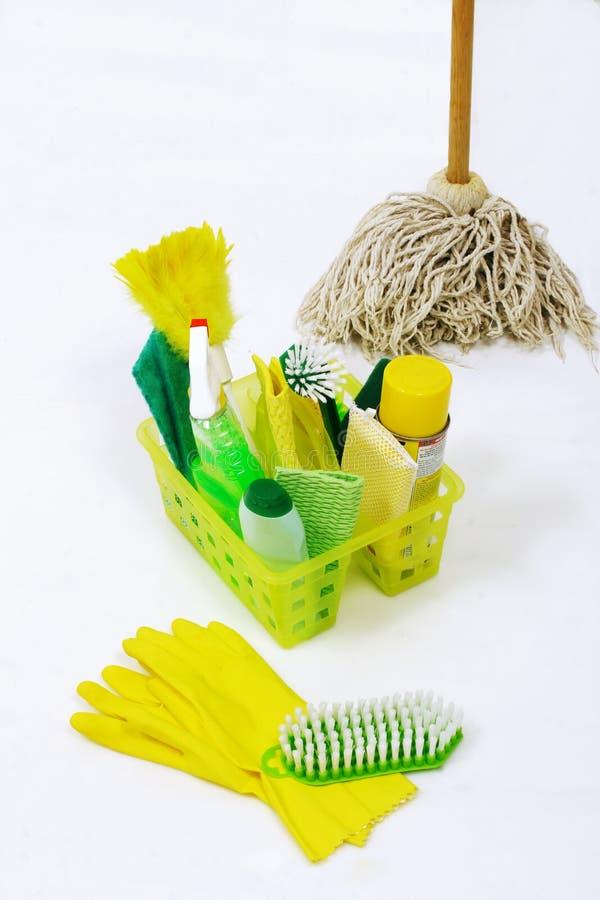 Elementi di pulizia immagini stock
