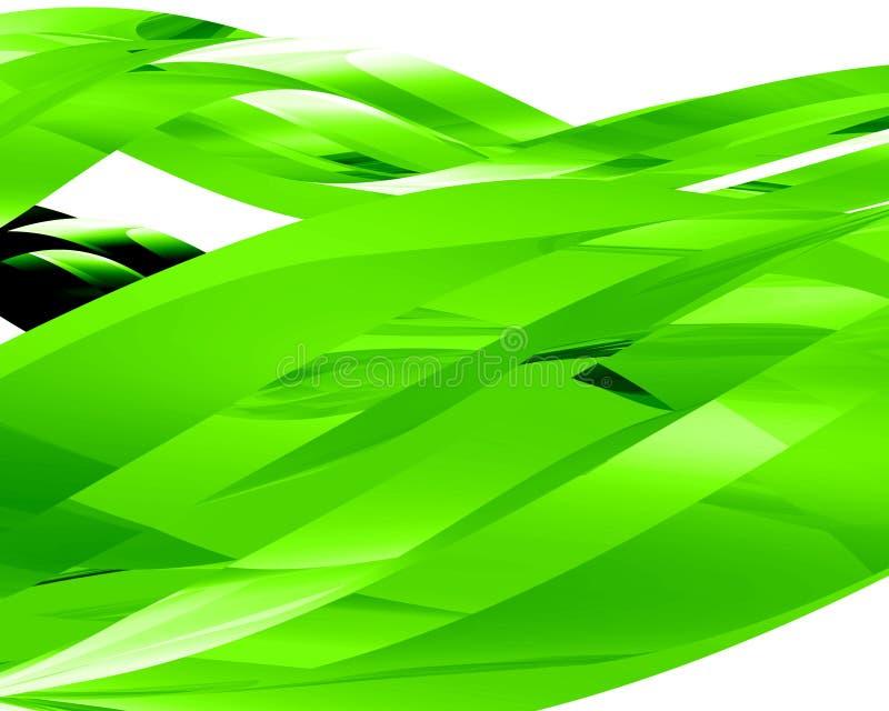 Elementi di vetro astratti 001 illustrazione di stock