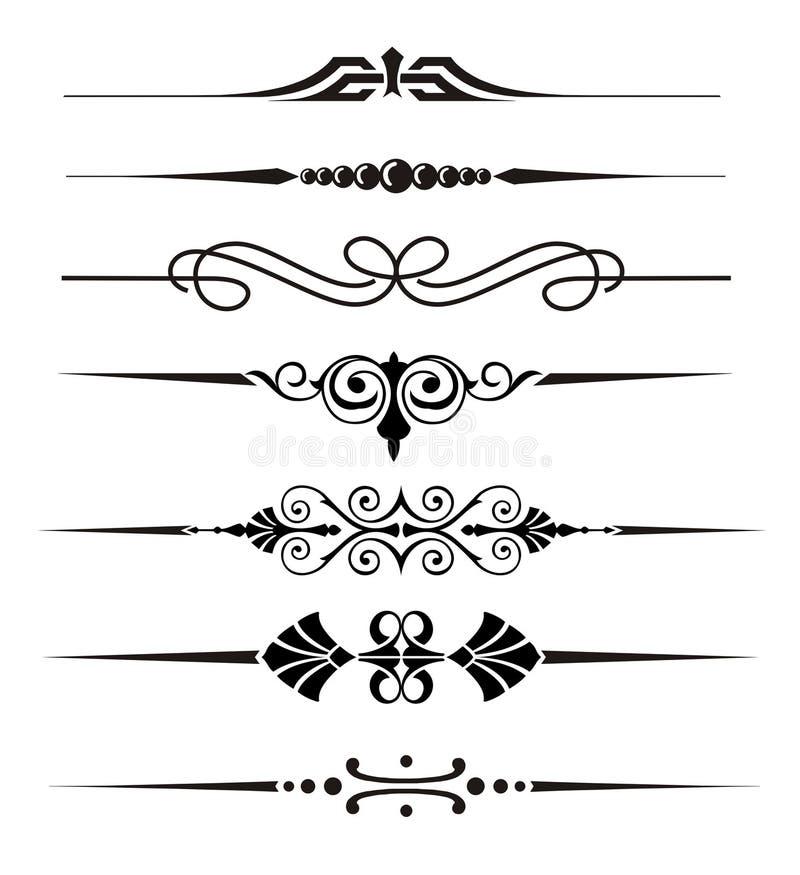 Elementi di vettore illustrazione vettoriale