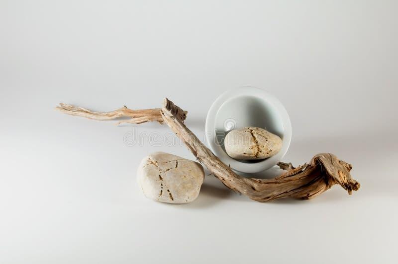 Elementi di zen - Wabi Sabi immagine stock libera da diritti