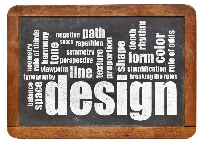 Elementi e regole di progettazione fotografie stock libere da diritti