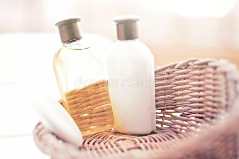 Elementi essenziali della stanza da bagno immagine stock for Elementi bagno