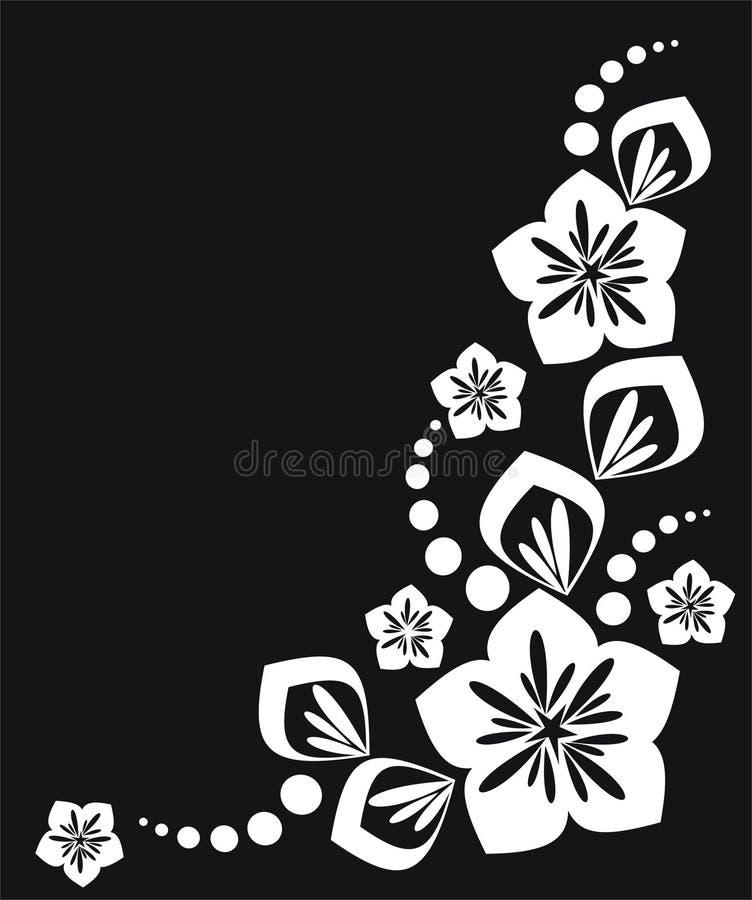 Elementi floreali immagine stock