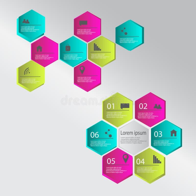 Elementi moderni di infographics Illustrazione di vettore illustrazione vettoriale
