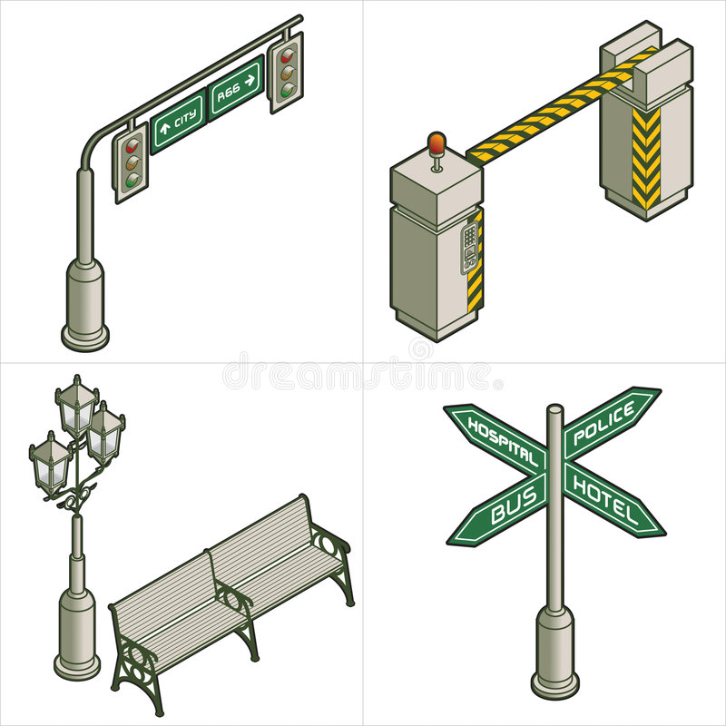 Elementi P. 18d di disegno royalty illustrazione gratis