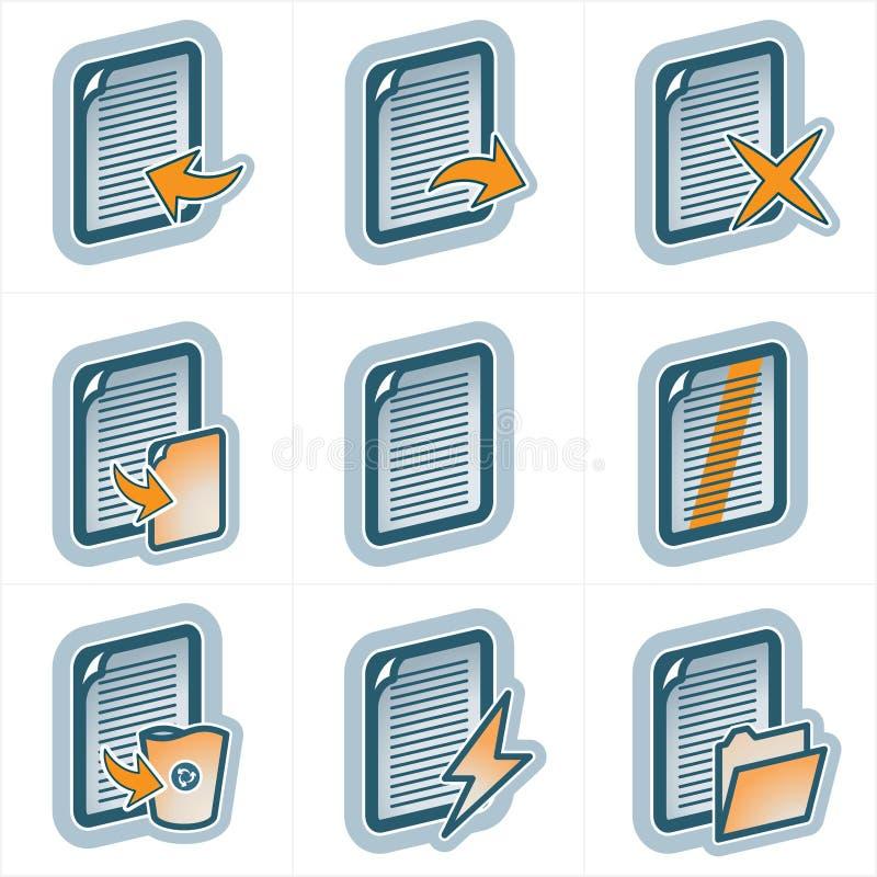 Elementi p.25a di disegno illustrazione di stock