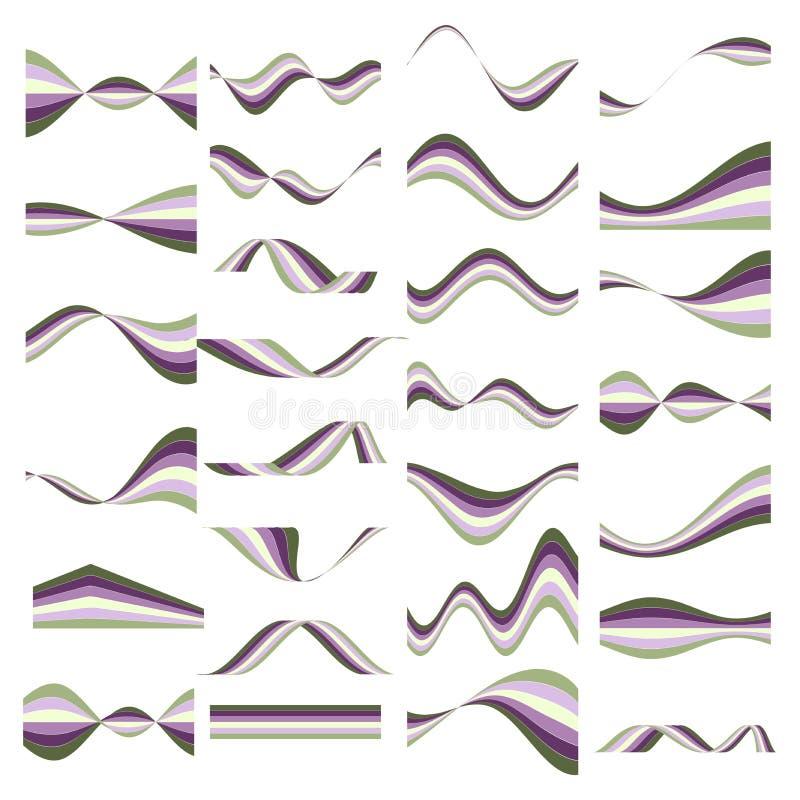 Elementi per il vostro disegno illustrazione vettoriale