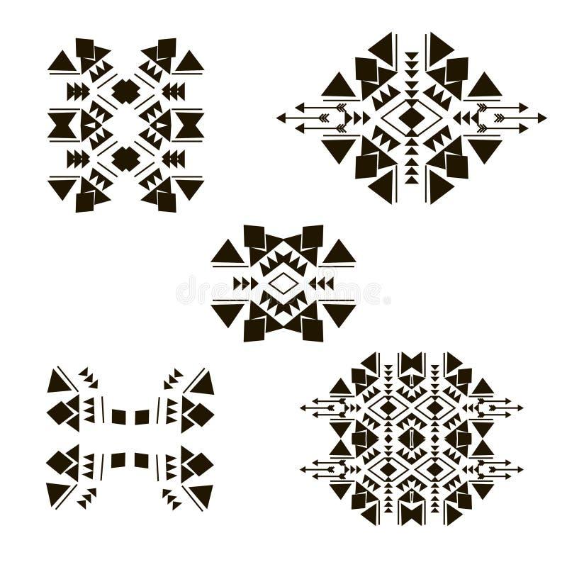 Elementi tribali 2 illustrazione di stock