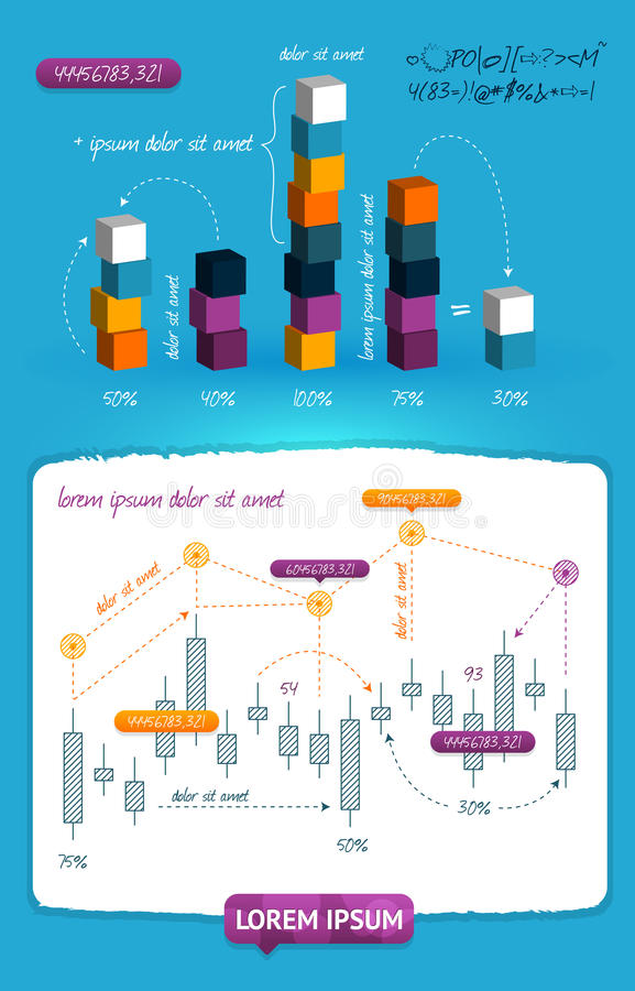 elementinfographics stock illustrationer
