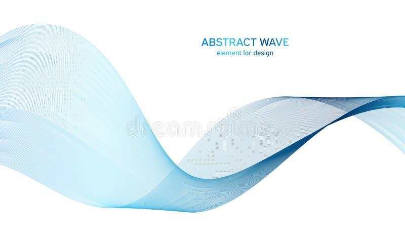 Elemento abstracto de la onda del colorfull para el dise?o Equalizador de la pista de la frecuencia de Digitaces L?nea estilizada foto de archivo libre de regalías