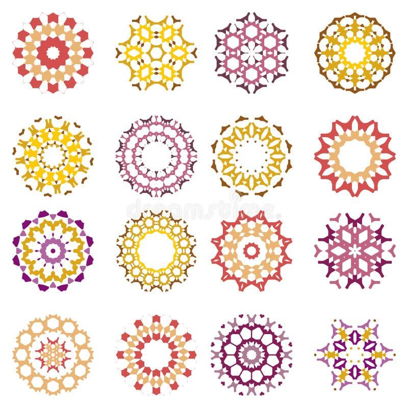 Elemento abstracto del diseño stock de ilustración