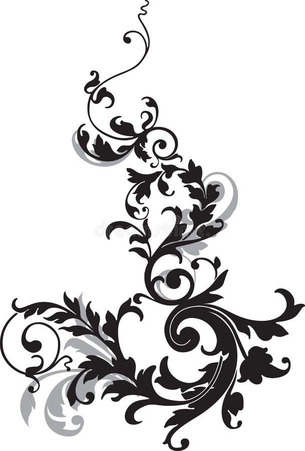 Elemento abstracto del diseño. ilustración del vector