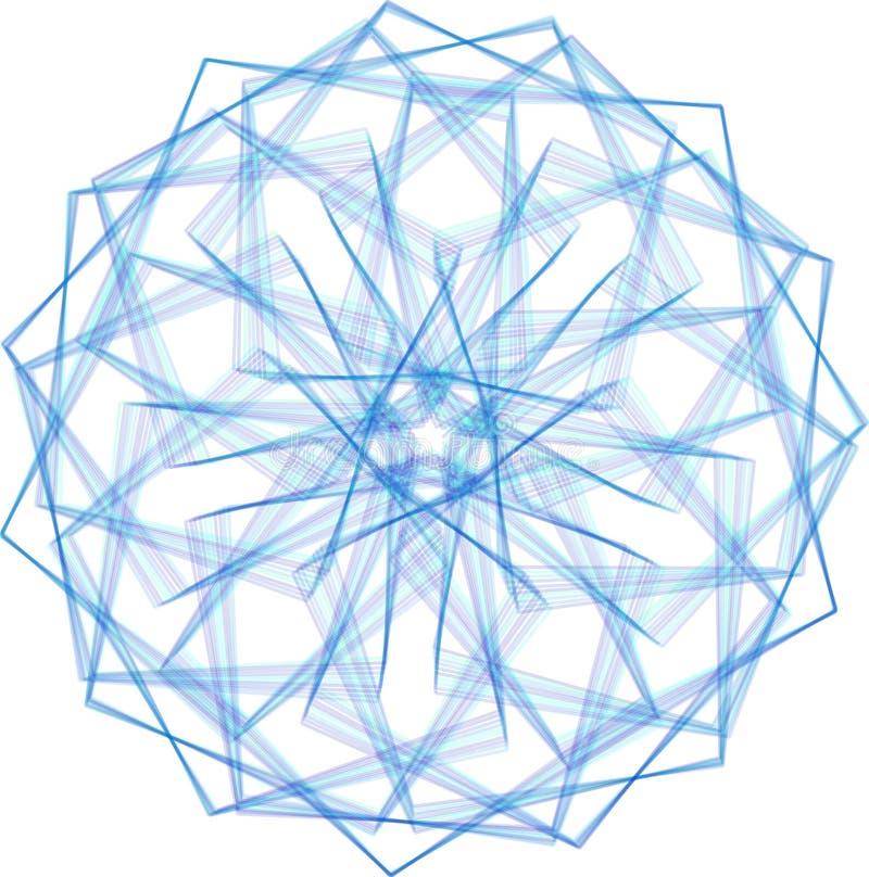 Elemento abstrato do projeto ilustração do vetor