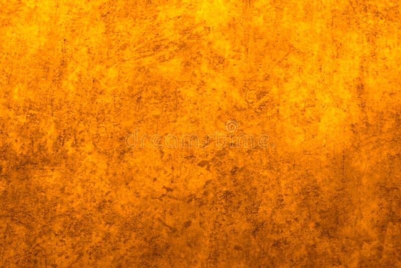 Elemento amarillo y marrón terroso del fondo y del diseño foto de archivo libre de regalías