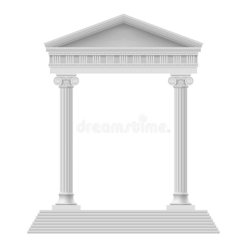 Elemento arquitectónico ilustração do vetor