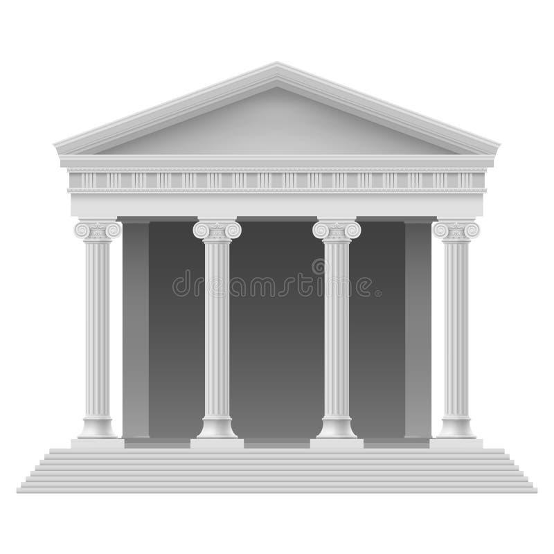 Elemento arquitectónico ilustração stock