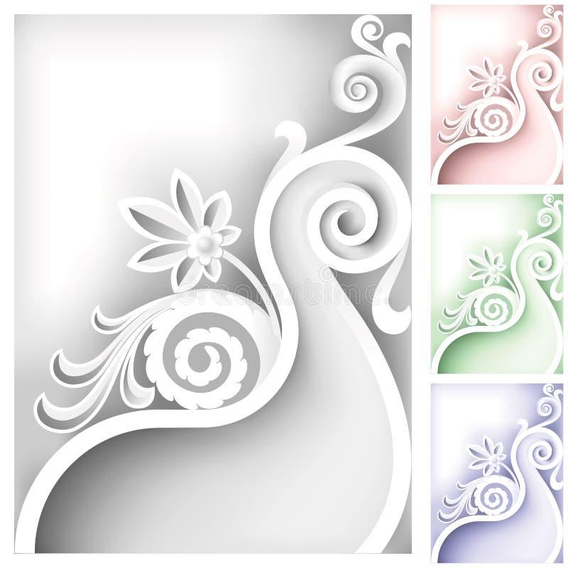 Elemento barrocco royalty illustrazione gratis