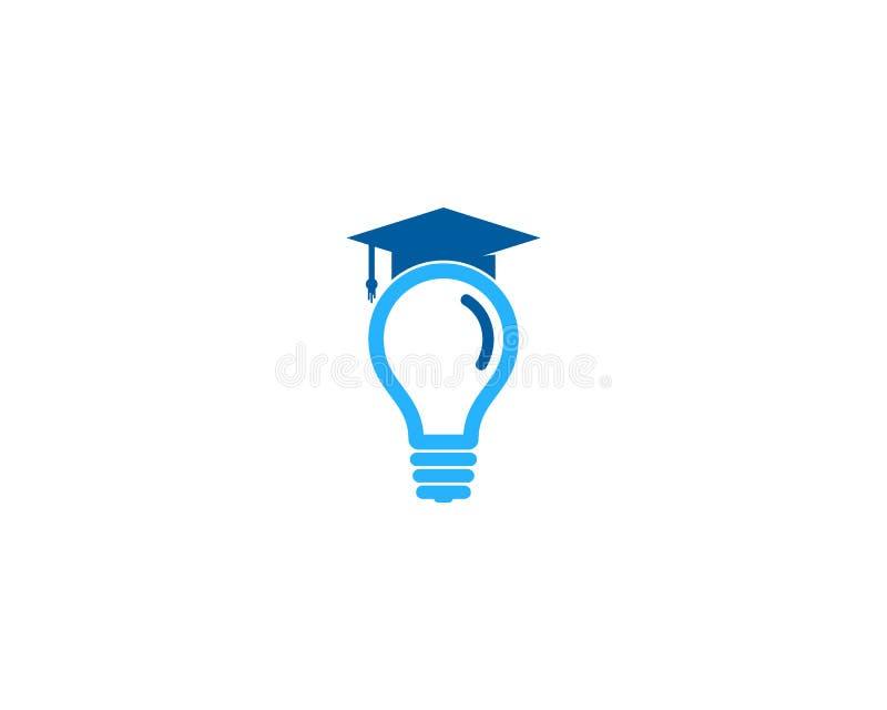 Elemento creativo di Logo Design dell'icona di istruzione di idea royalty illustrazione gratis