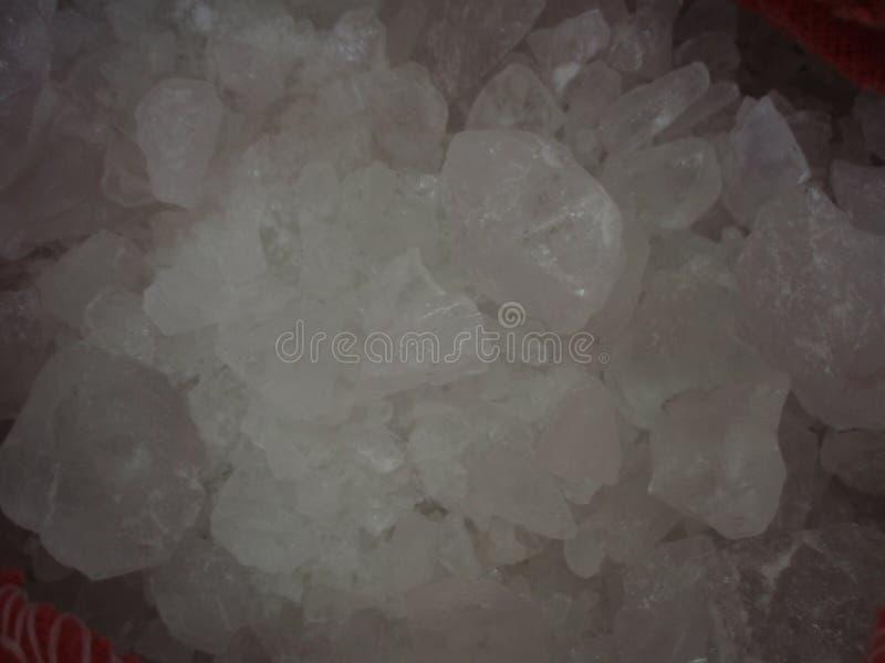 elemento cristal da carta periódica imagem de stock