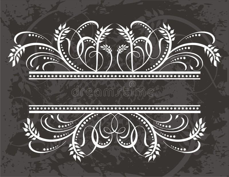 Elemento da etiqueta ilustração royalty free