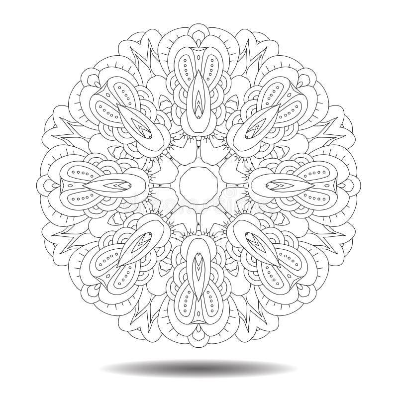 Elemento da mandala ilustração royalty free
