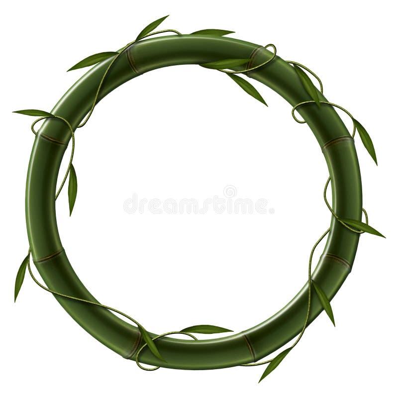 Elemento de bambú ilustración del vector