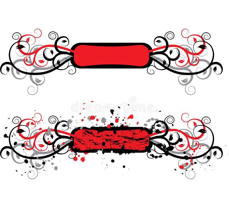 Elemento de Grunge para o projeto, vetor ilustração do vetor