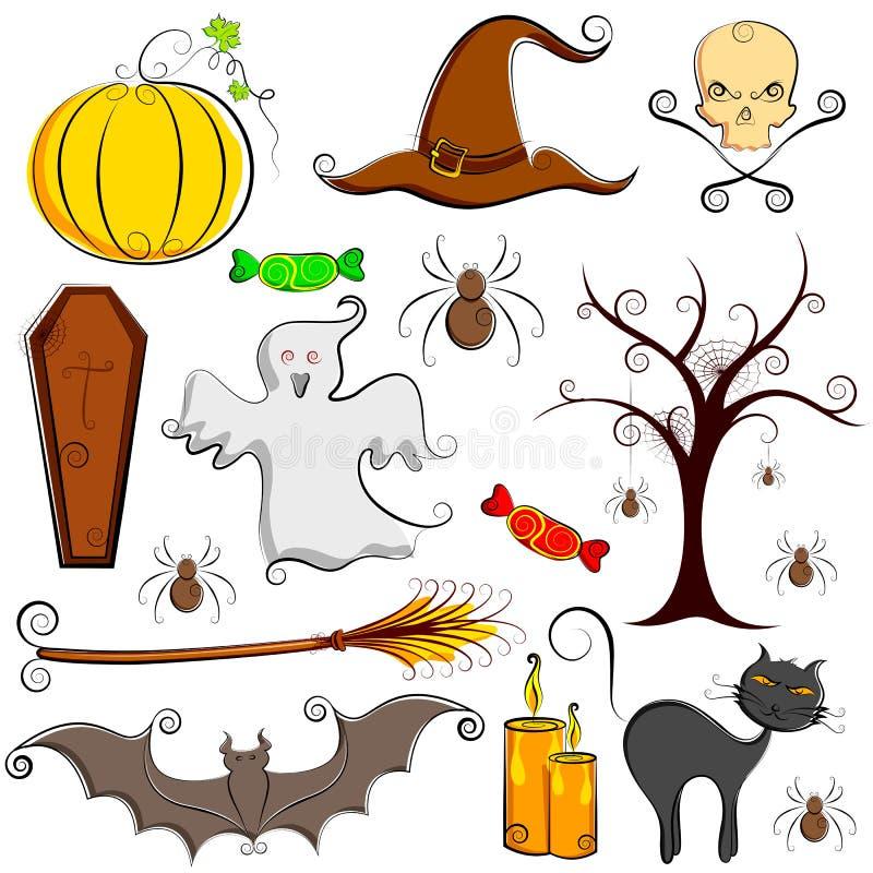 Elemento de Halloween ilustração stock