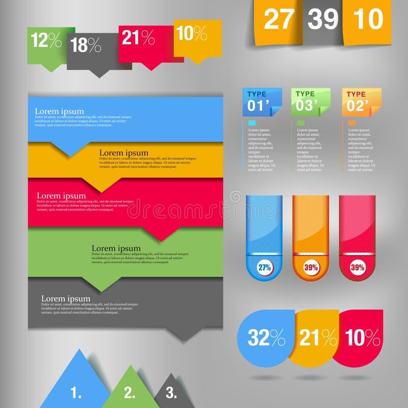 Elemento de Infographic ilustração do vetor