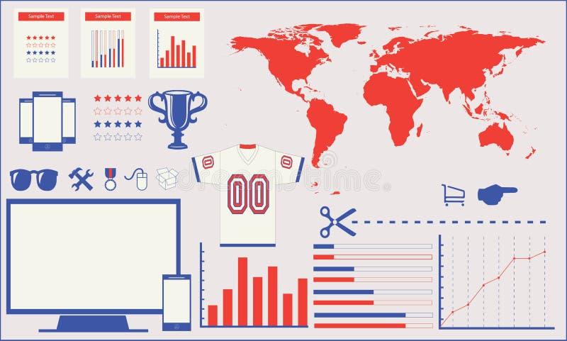 Elemento de Infographic foto de archivo libre de regalías