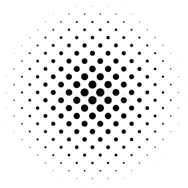 Elemento de intervalo mínimo Gráfico geométrico abstrato com patt da reticulação ilustração stock