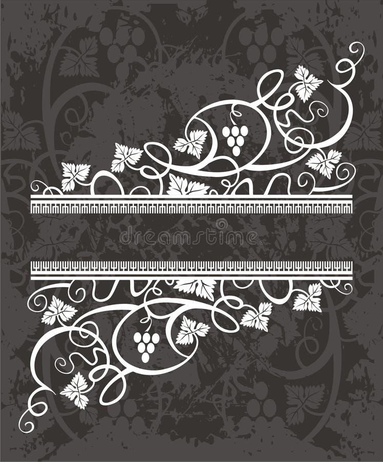 Elemento de la escritura de la etiqueta stock de ilustración