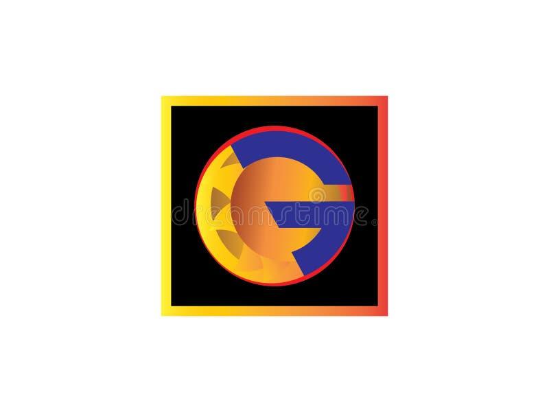 Elemento de Logo Vector Graphic Branding Letter del diseño de G de la letra inicial libre illustration