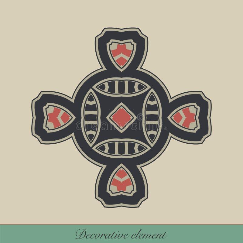 Elemento decorativo ilustração do vetor