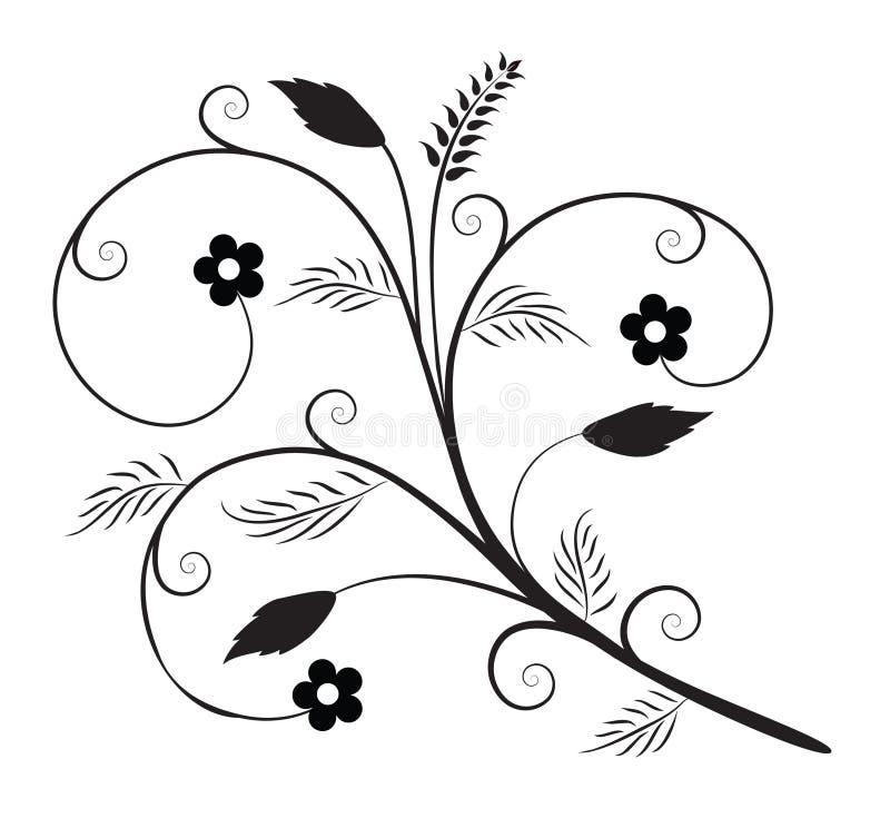 Elemento decorativo ilustração royalty free