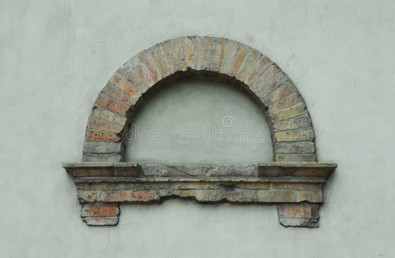 Elemento decorativo de la pared foto de archivo libre de regalías