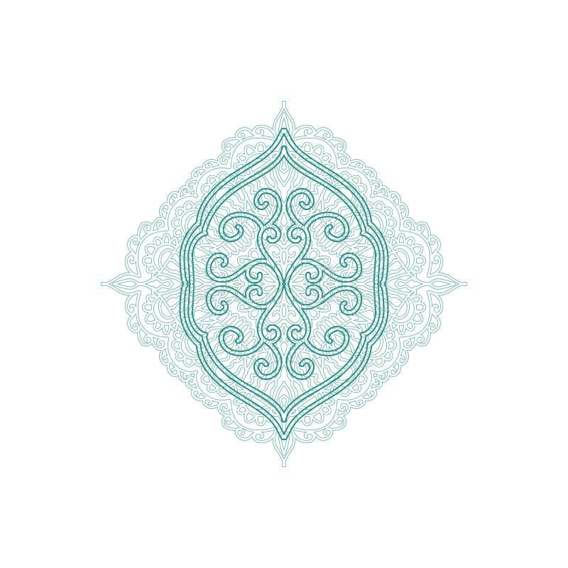 Elemento decorativo do estilo árabe imagem de stock royalty free