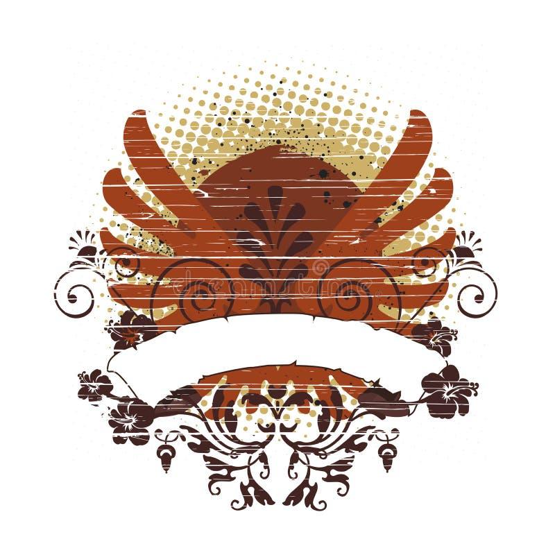 Elemento del diseño ilustración del vector