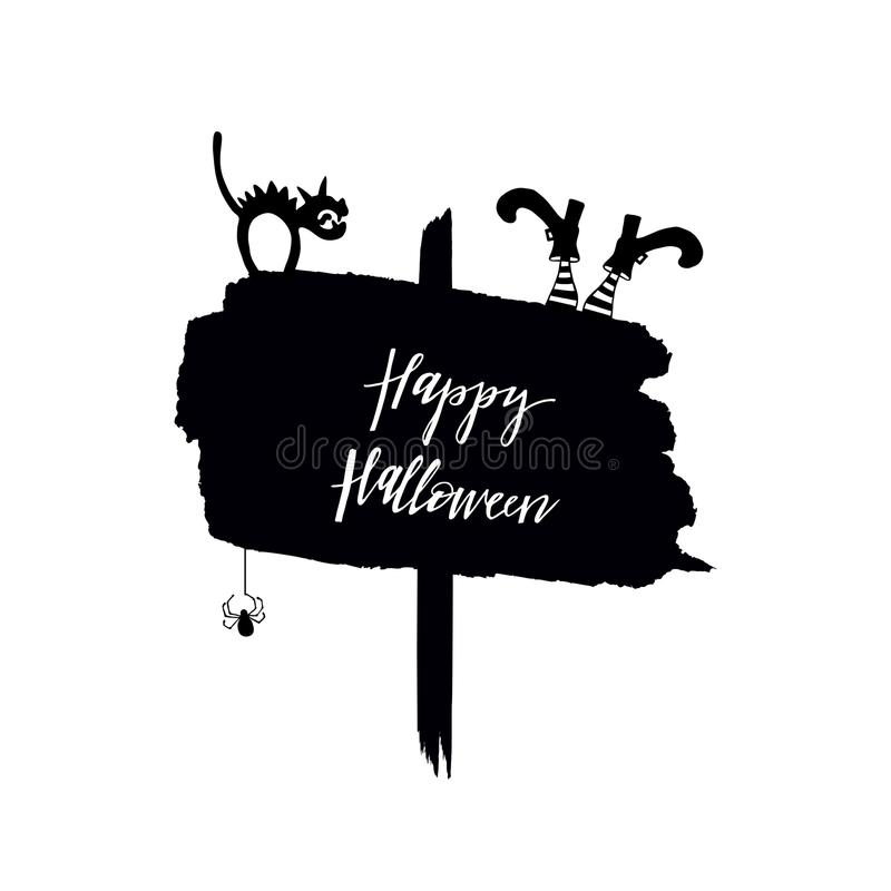 Elemento del diseño de Halloween libre illustration