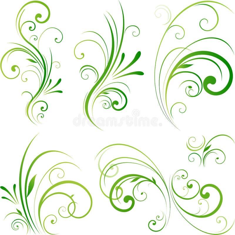 Elemento del diseño de la naturaleza ilustración del vector
