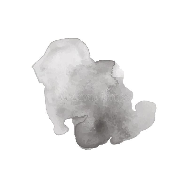 Elemento del diseño del chapoteo de la acuarela imagenes de archivo