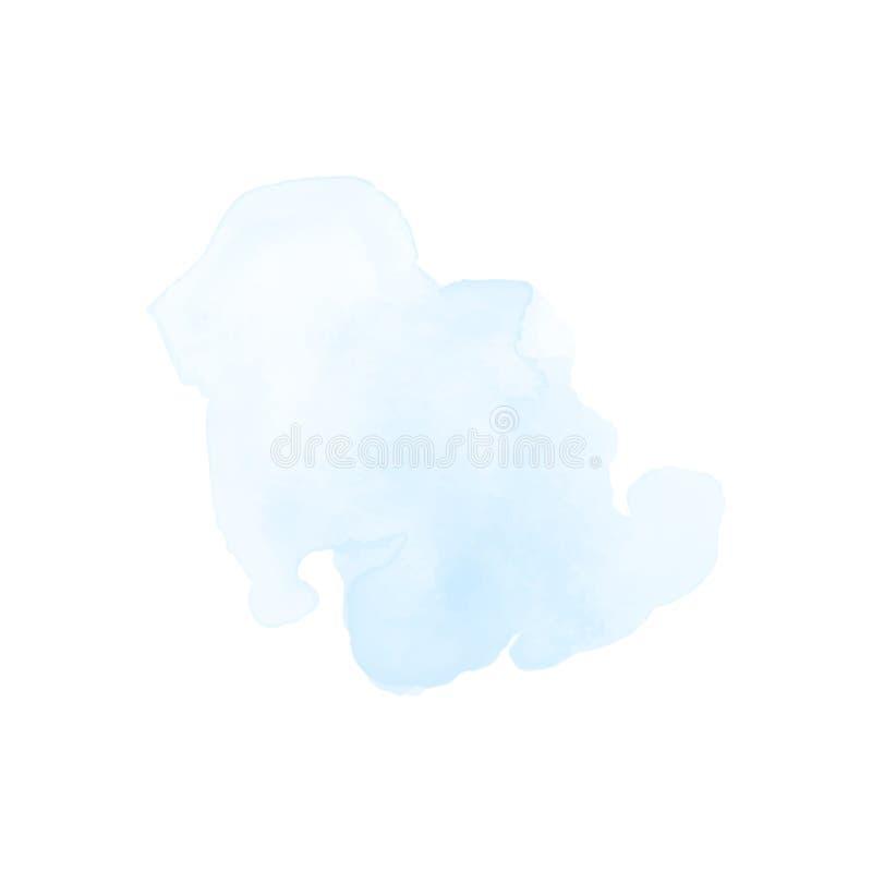 Elemento del diseño del chapoteo de la acuarela imagen de archivo